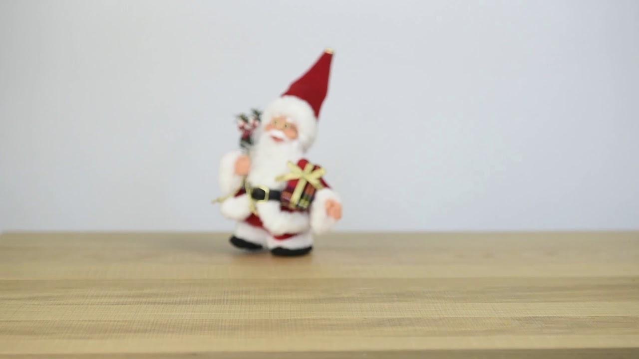 Père Noël Marcheur Avec Musique / Laufender Weihnachtsmann Mit Musik -  Vedia.ch concernant Musique Du Père Noël