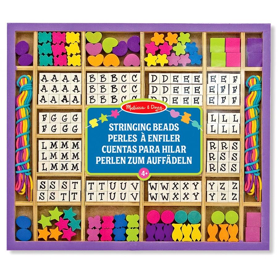 Perles À Enfiler - Lettres Et Formes, Colliers À Fabriquer dedans Jeux De Lettres Enfants
