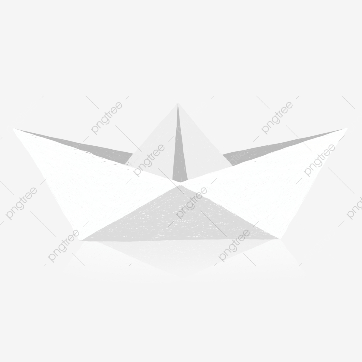 Petit Bateau En Papier Avec Éléments Commerciaux, Dessin avec Origami Petit Bateau