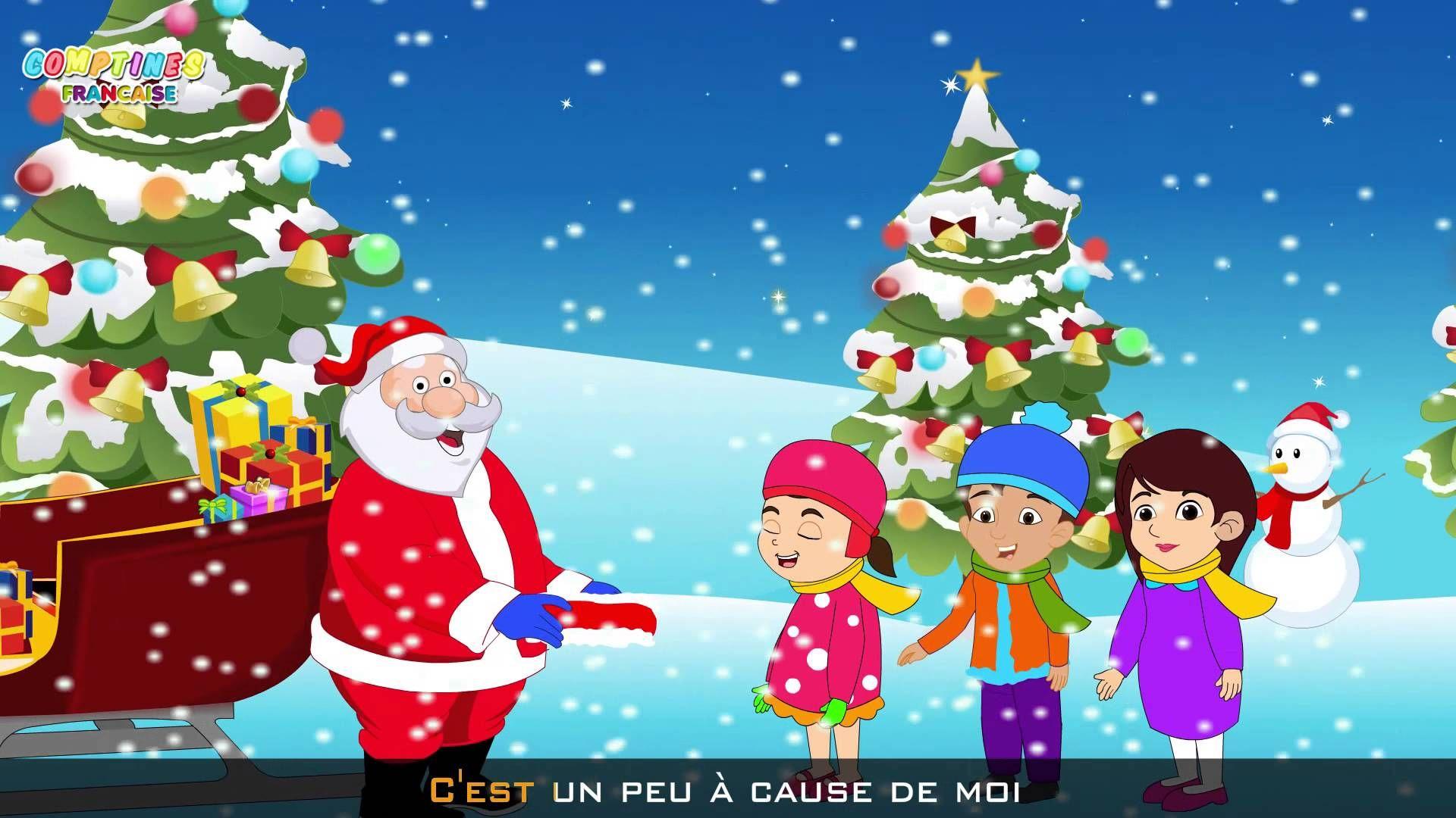 Petit Papa Noël - Chansons De Noël - Chansons Pour Enfants intérieur Petit Papa Noel Video