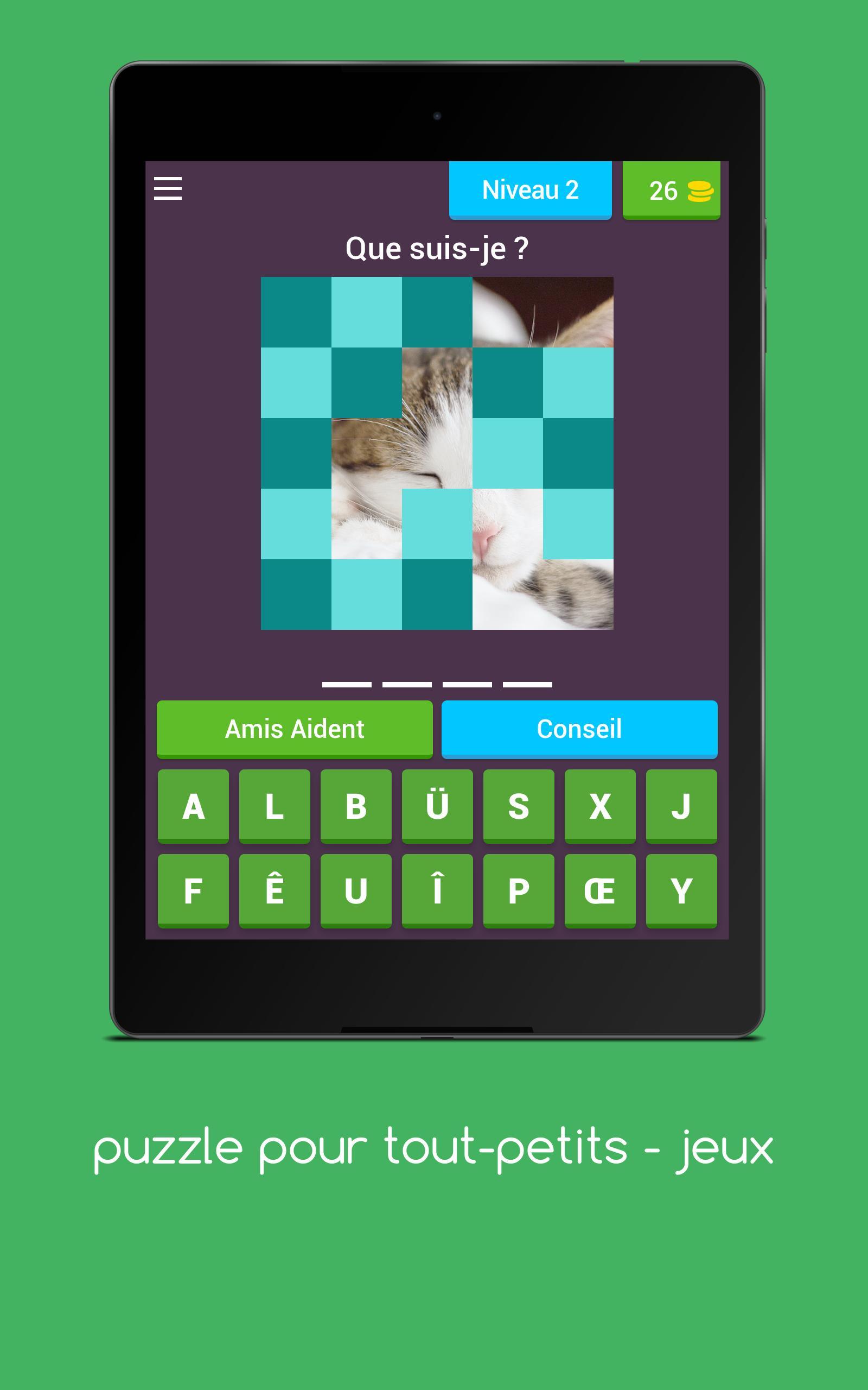 Photo Puzzle Gratuit - Jeux Puzzle Pour Enfants For Android destiné Puzzle Gratuit Enfant