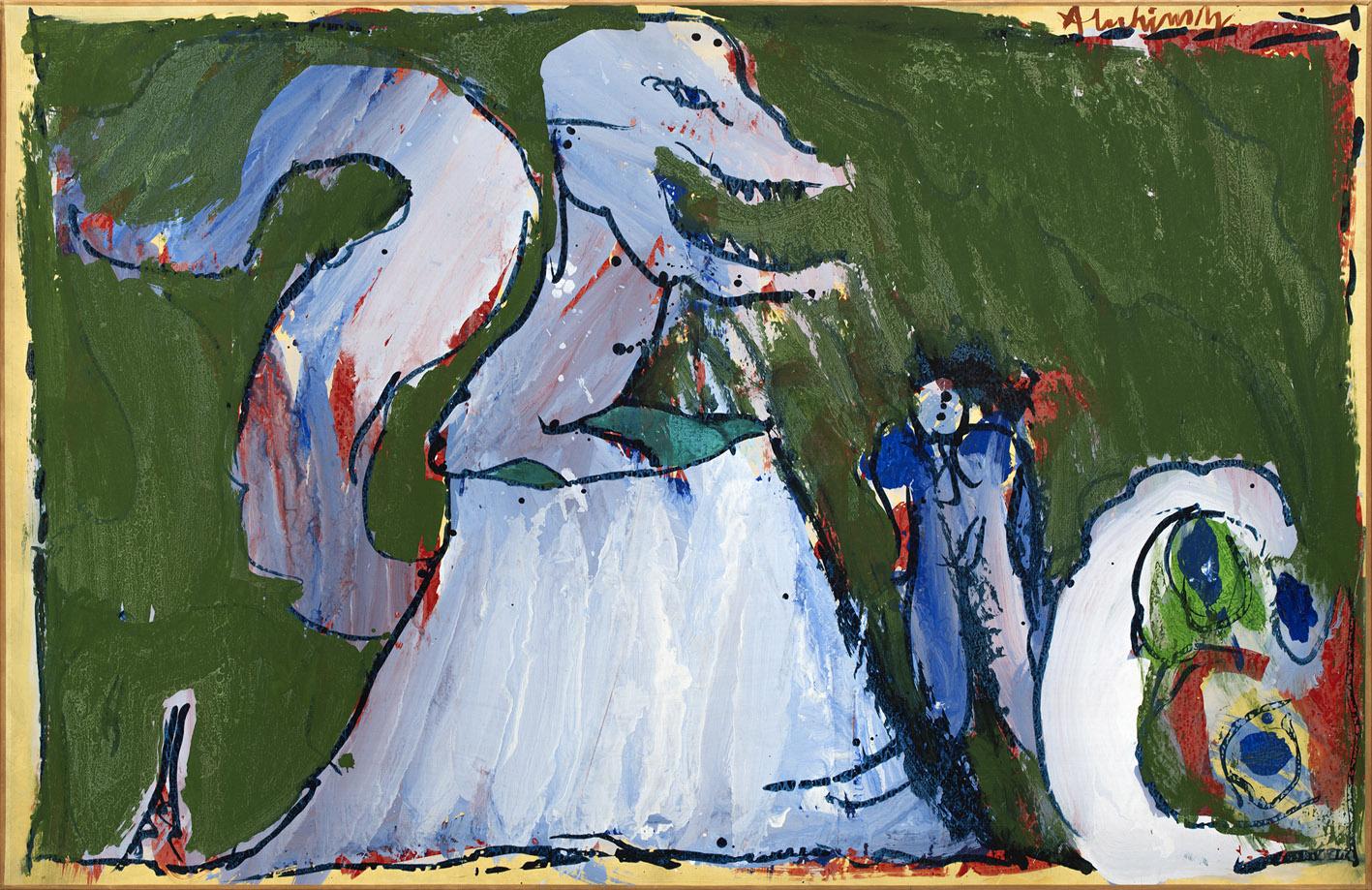 Pierre Alechinsky - Artiste - Galerie Lelong & Co. concernant Oeuvre Alechinsky