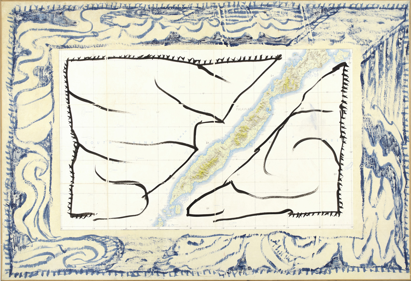 Pierre Alechinsky - Artiste - Galerie Lelong & Co. destiné Oeuvre Alechinsky