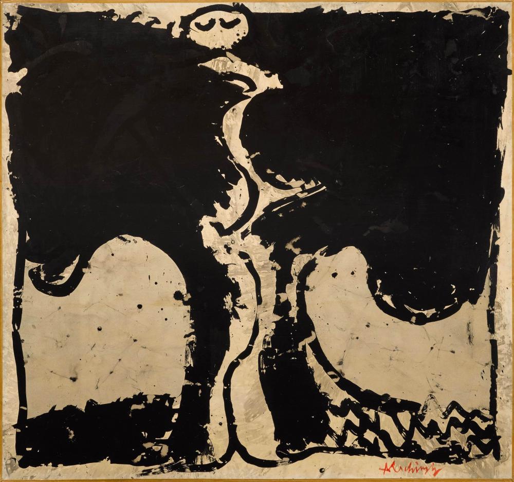 Pierre Alechinsky destiné Oeuvre Alechinsky