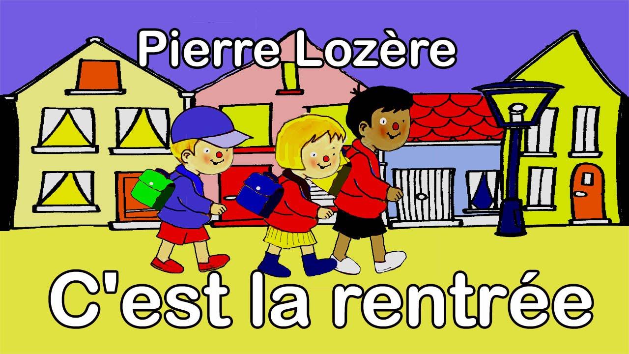 Pierre Lozère C'est La Rentrée serapportantà Rentrée En Grande Section