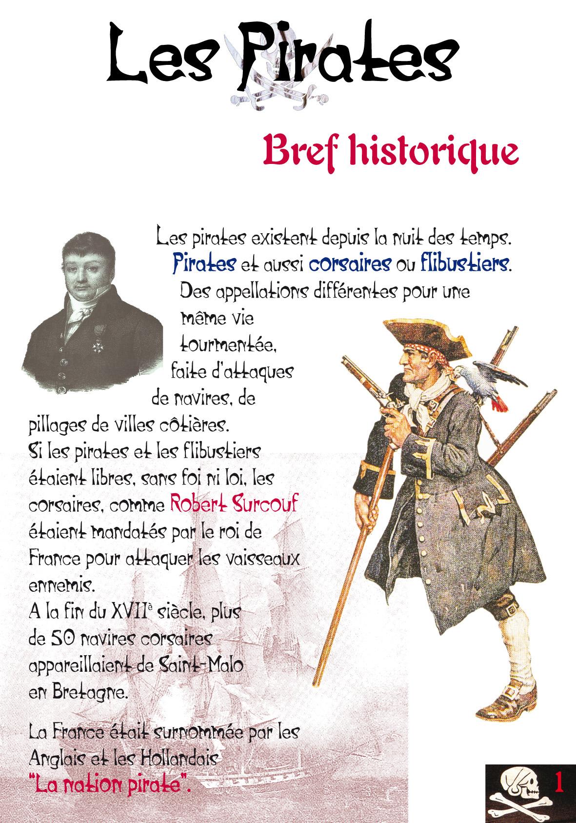 Pirates Et Brigands - Sepia & Bodoni pour Histoires De Pirates Gratuit