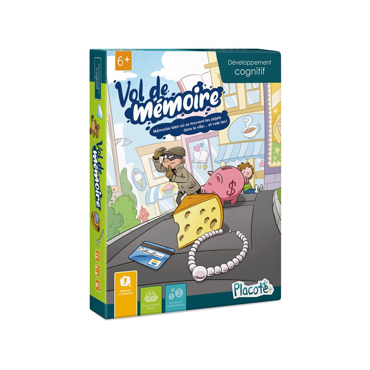 Placote - Vol De Mémoire avec Jeux De Memoire Enfant