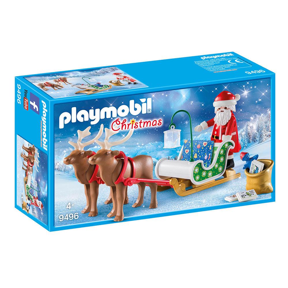 Playmobil Christmas 9496 - Traineau Du Père Noël encequiconcerne Image De Traineau Du Pere Noel