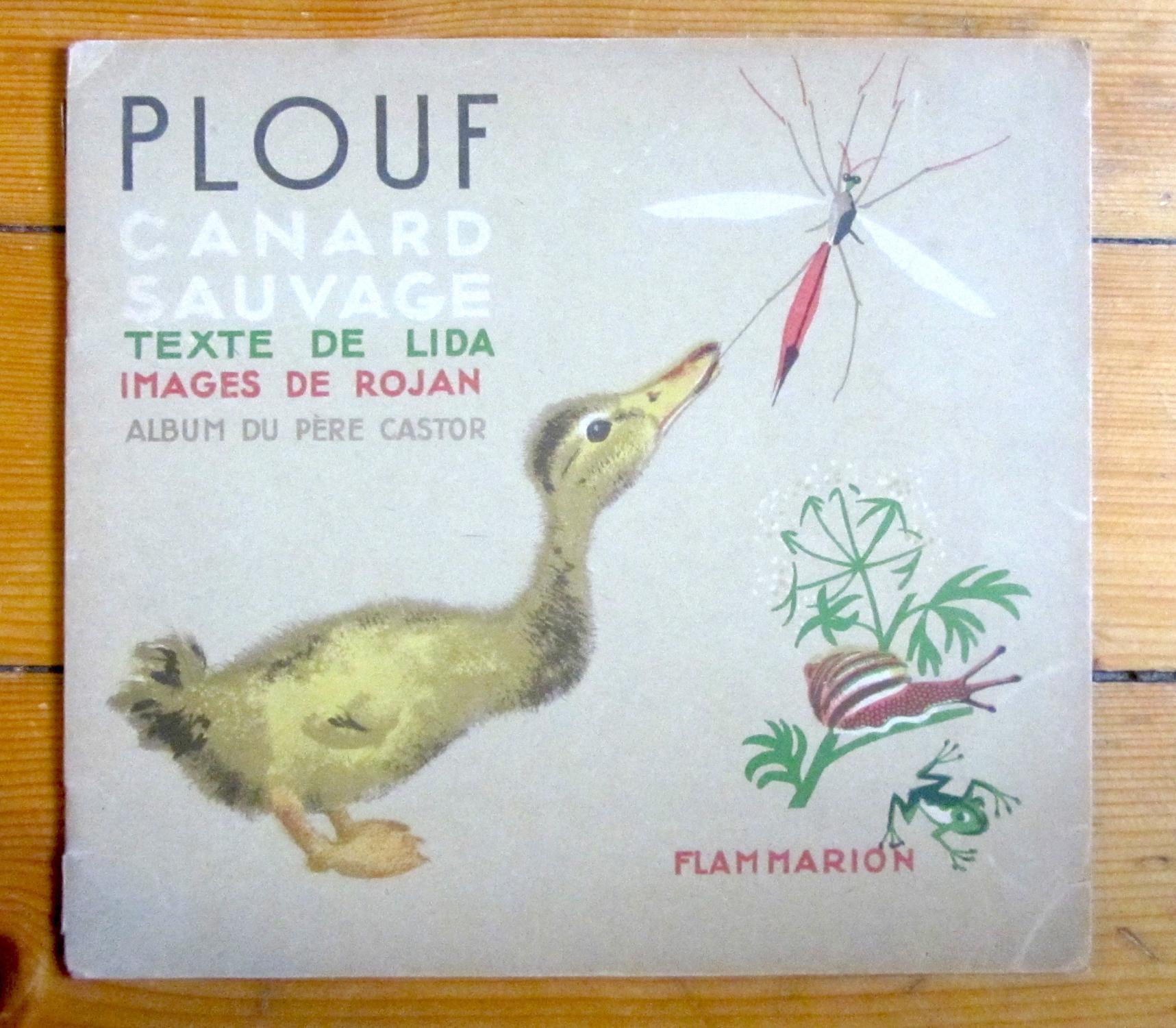 Plouf, Canard Sauvage intérieur Album Plouf