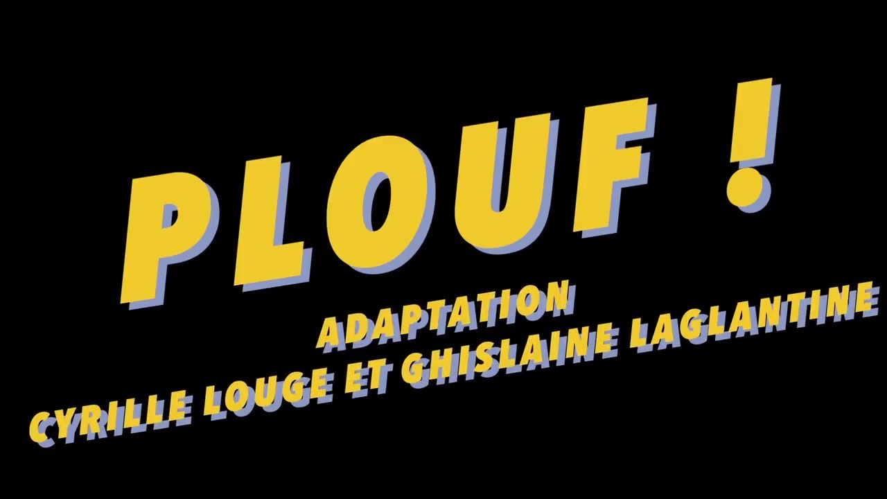"""""""plouf!"""" D'après Philippe Corentin / Cie Ladgy Prod destiné Album Plouf"""