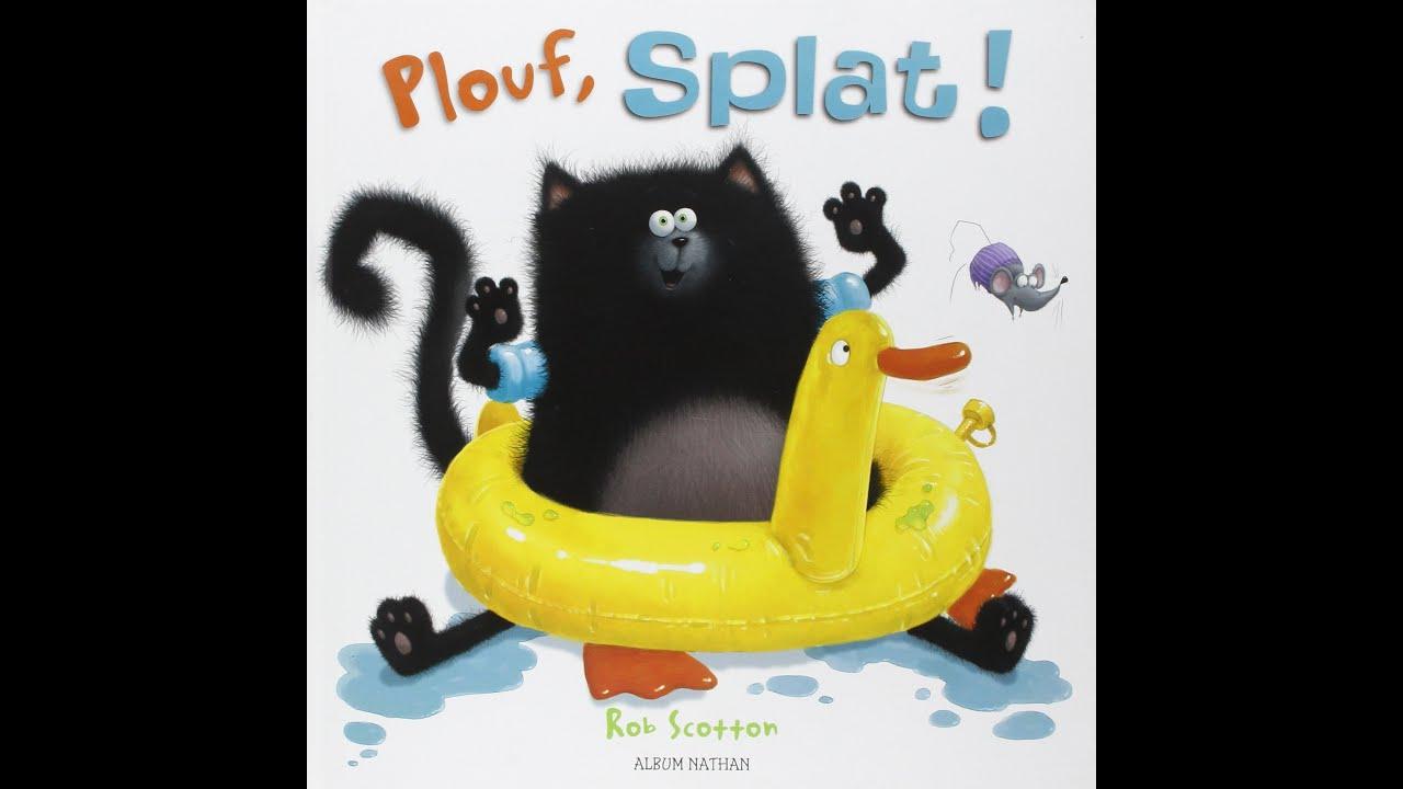 Plouf, Splat intérieur Album Plouf