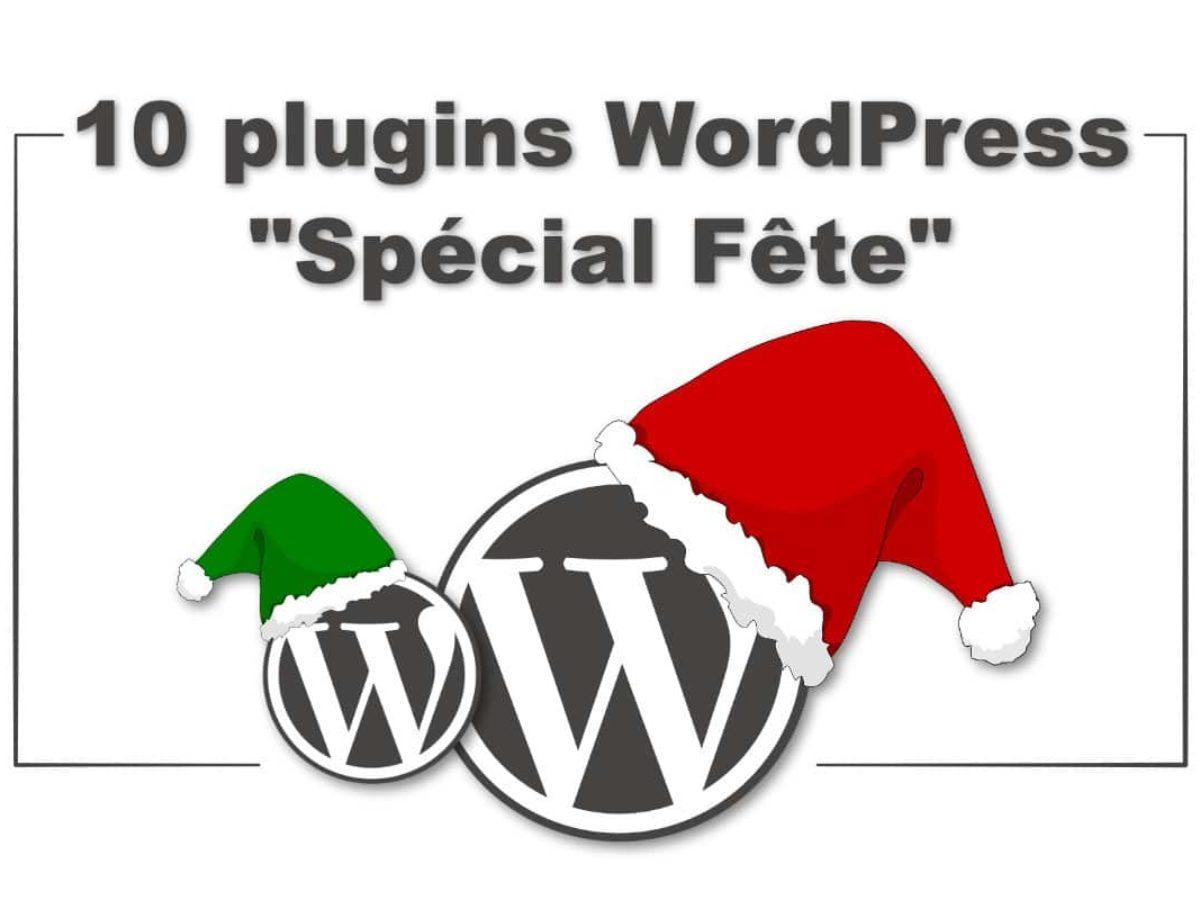 Plugins De Noël : Wordpress S'habille Pour Les Fêtes ! concernant Police Ecriture Noel