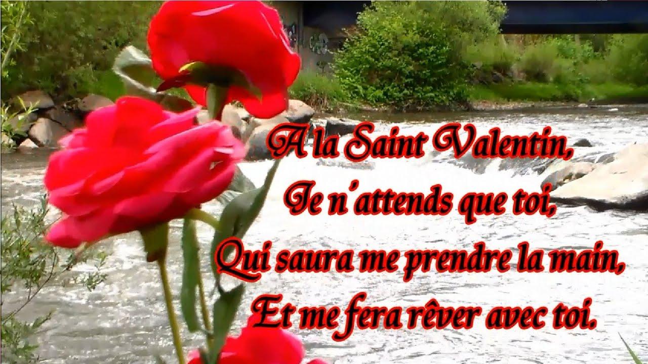 Poème De La Saint Valentin : Poésie Et Fleur À Offrir intérieur Poeme Les Fleurs