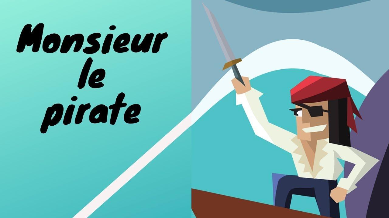 Poésie Monsieur Le Pirate - Poésie Illustrée Sur Les Pirates concernant Histoires De Pirates Gratuit