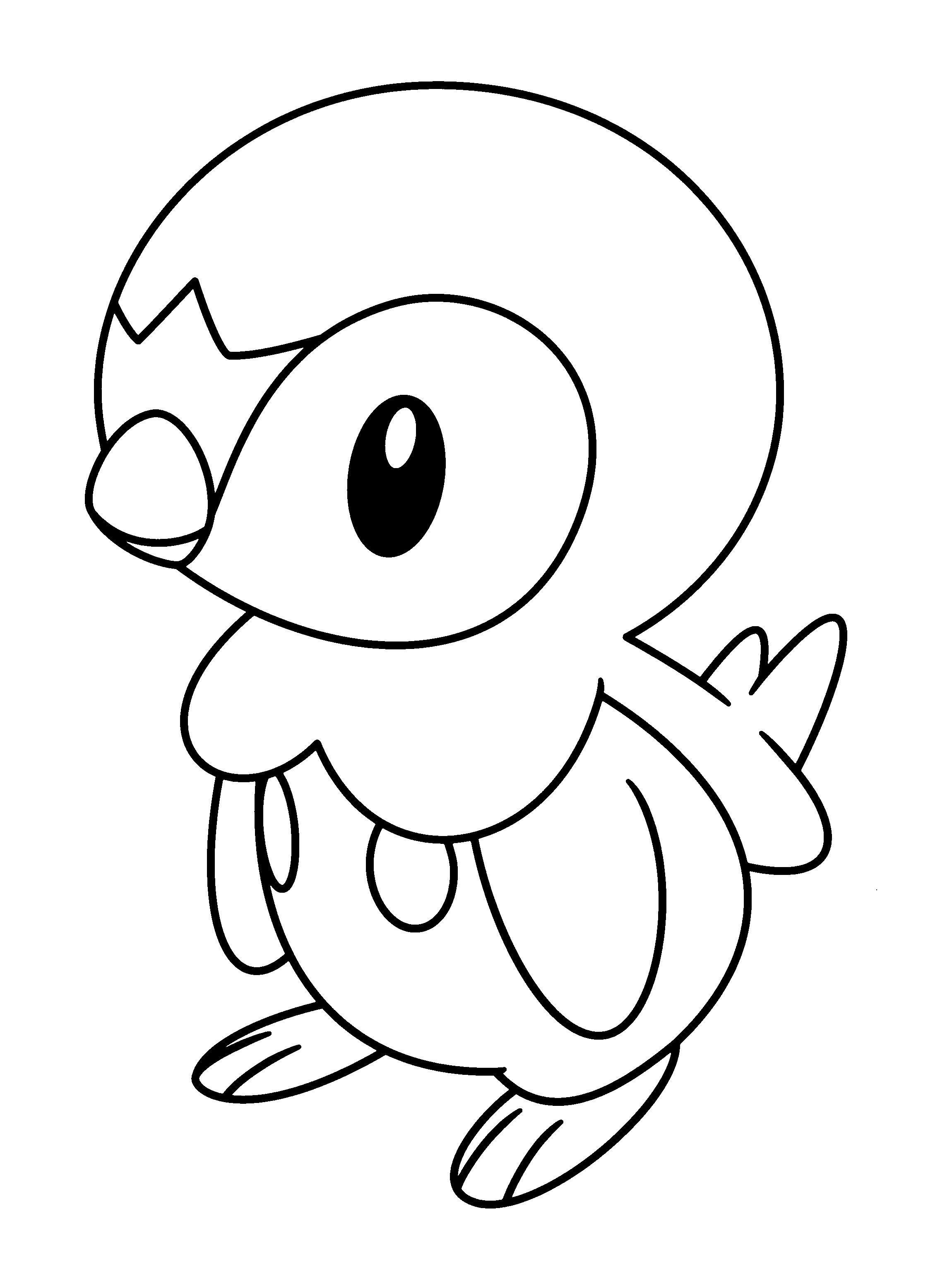 Pokemon #151 (Dessins Animés) – Coloriages À Imprimer avec Coloriage De Pokémon Gratuit
