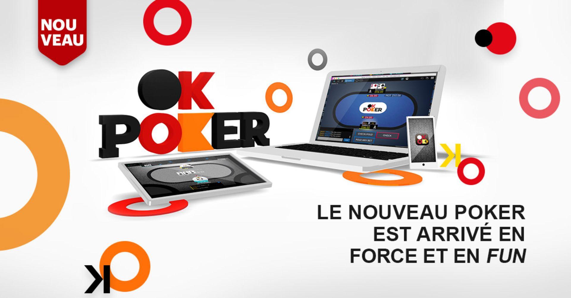 Poker En Ligne - Ok Poker - Loto-Québec destiné Loto Espace Jeux