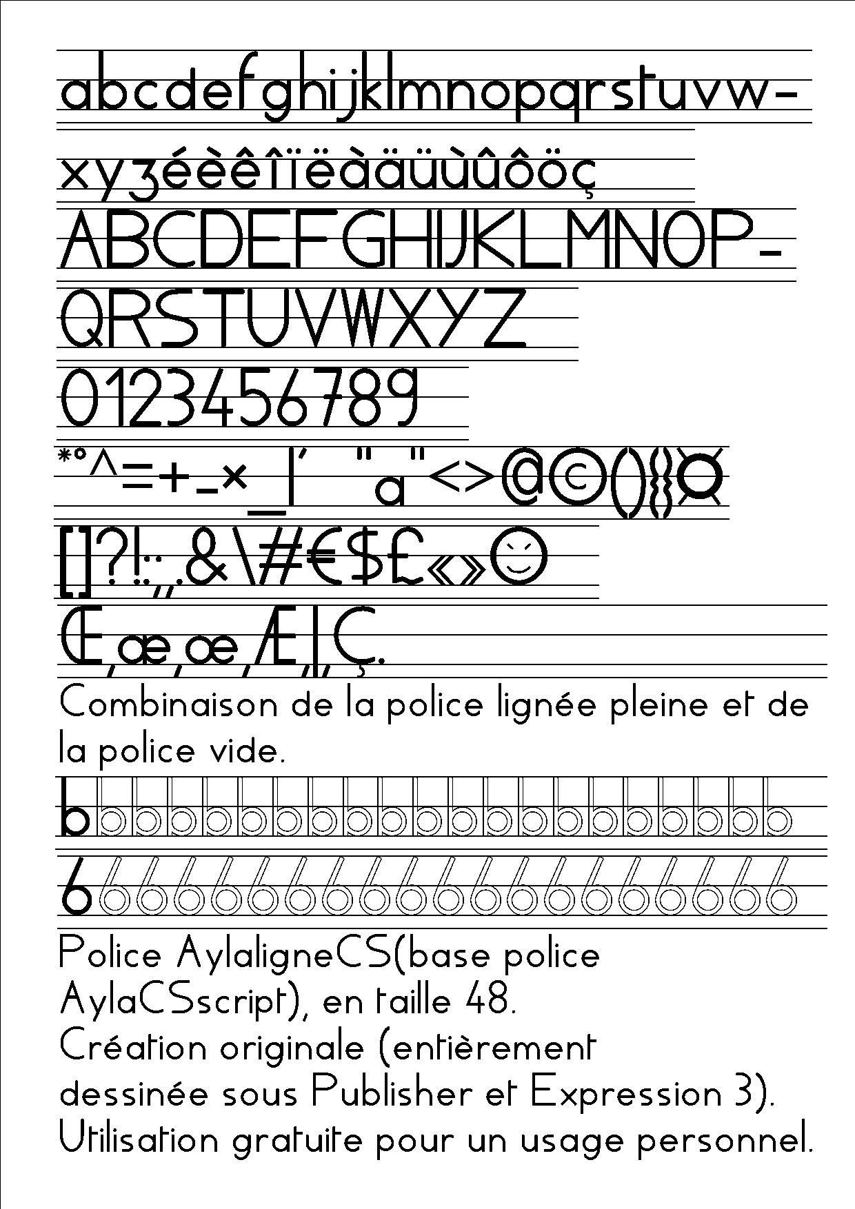 Polices De Caractere destiné Police Script Ecole