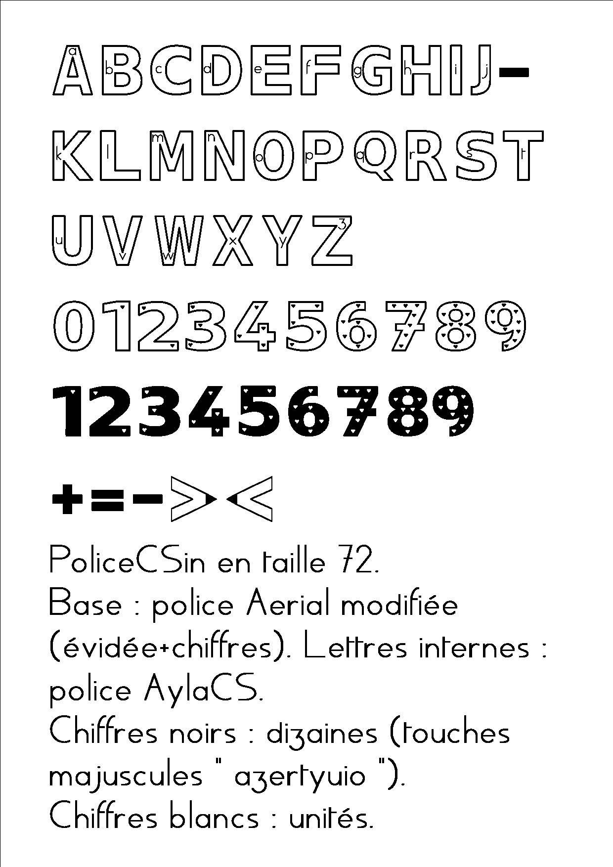 Polices De Caractere pour Police Script Ecole