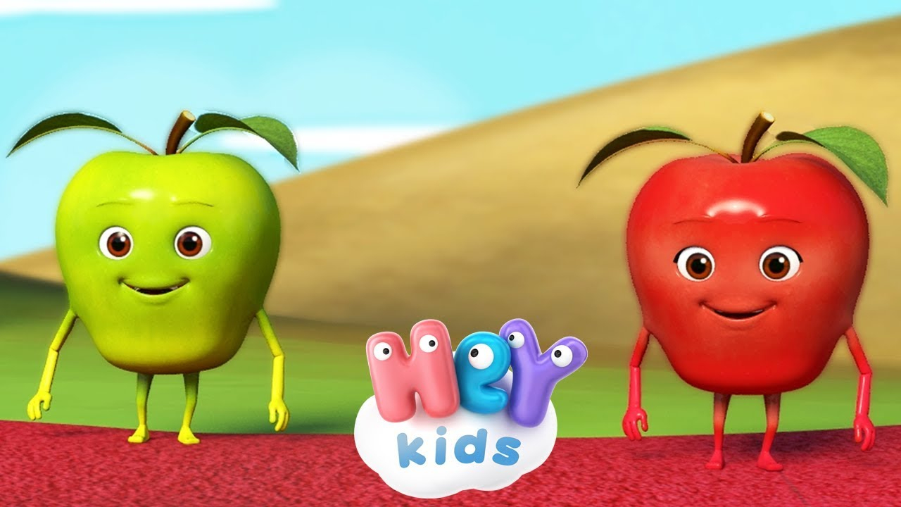 Pomme De Reinette Et Pomme D'api - Chanson De Bébé | Heykids concernant Chanson Pour Bebe 1 An