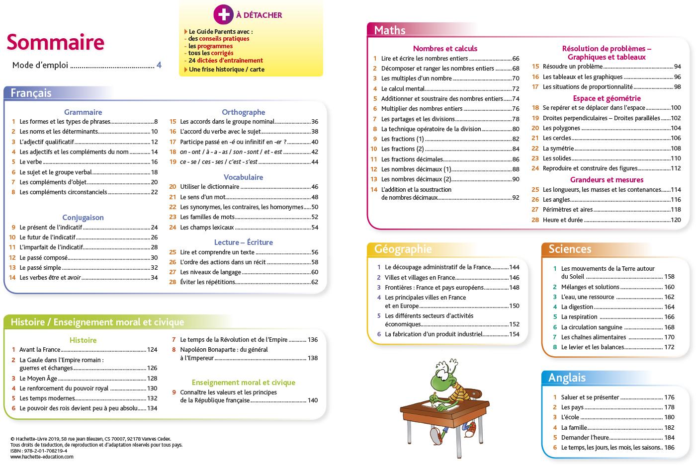 Pour Comprendre Toutes Les Matières Cm1 | Hachette Éducation - Enseignants dedans Leçon Respiration Cm1
