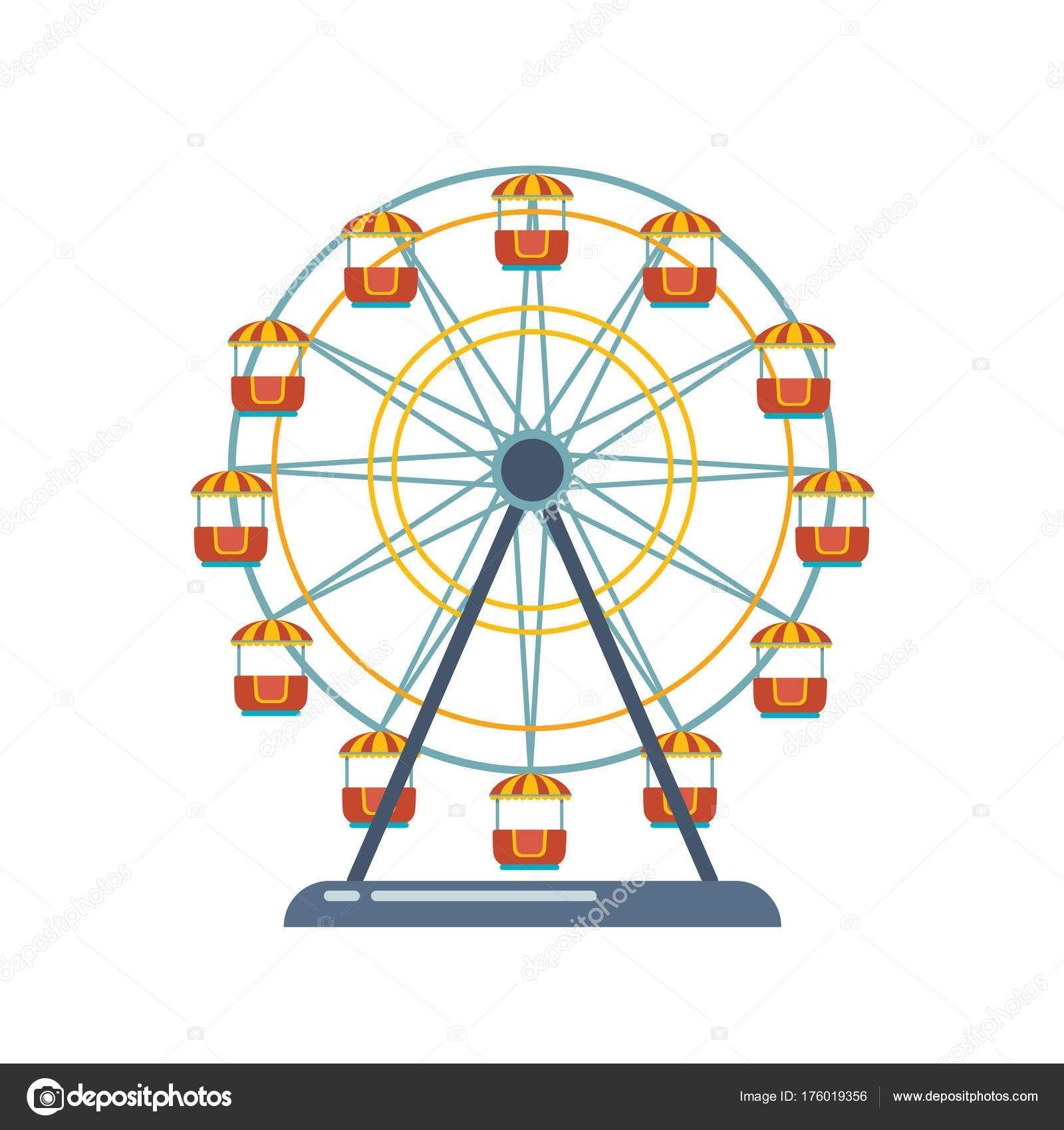 Pour Enfants Aire De Jeux/divertissements, Parc De Loisirs concernant Dessin De Fete Foraine