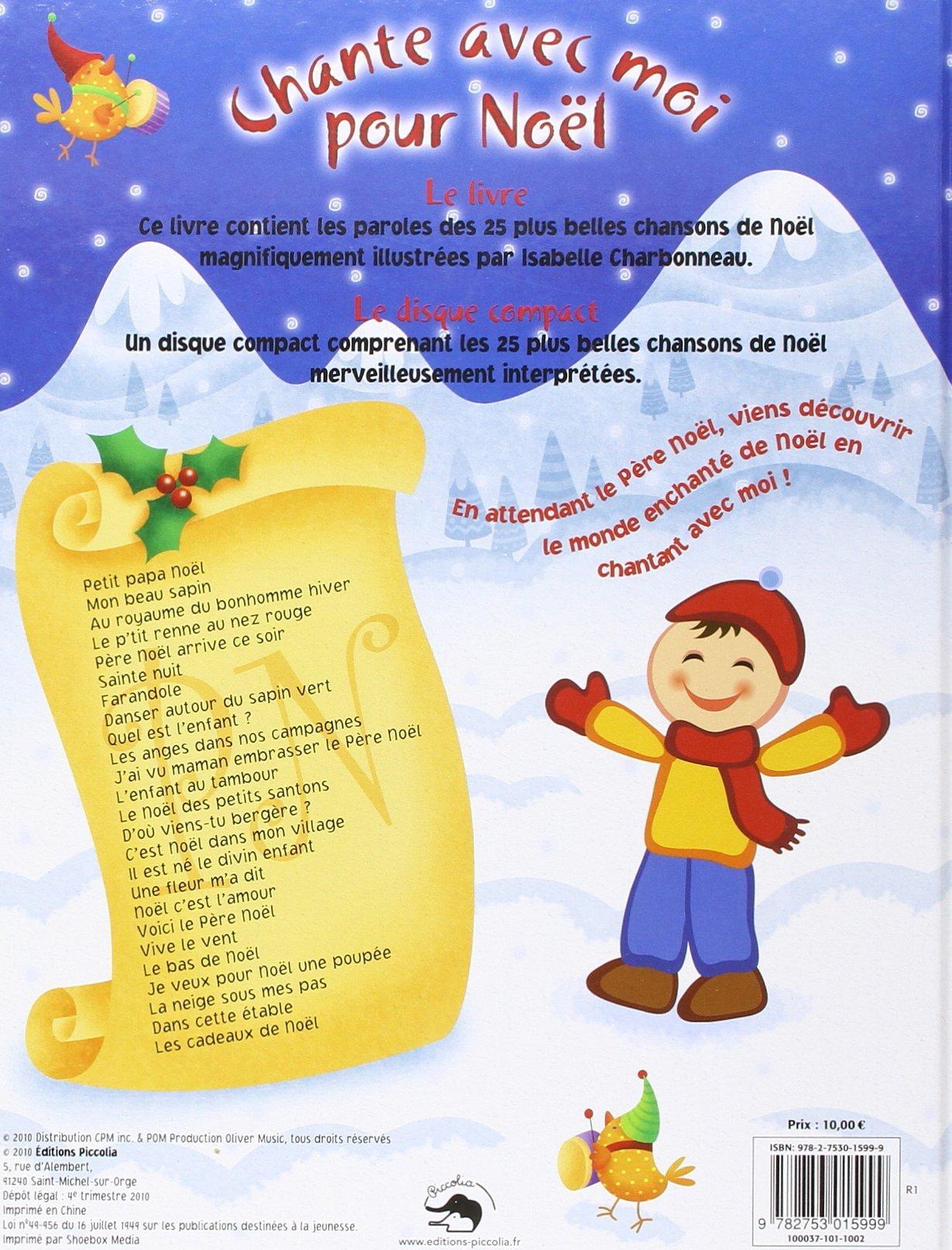 Pour Noël - Les 25 Plus Belles Chansons De Noël (1Cd Audio) Isabelle  Charbonneau | 3L Librairie encequiconcerne Chanson De Noel En Chinois