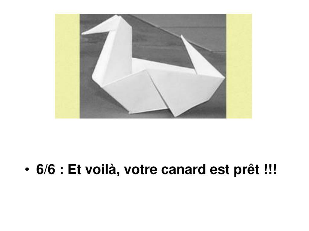 Ppt - Le Canard En Origami Powerpoint Presentation, Free destiné Origami Canard