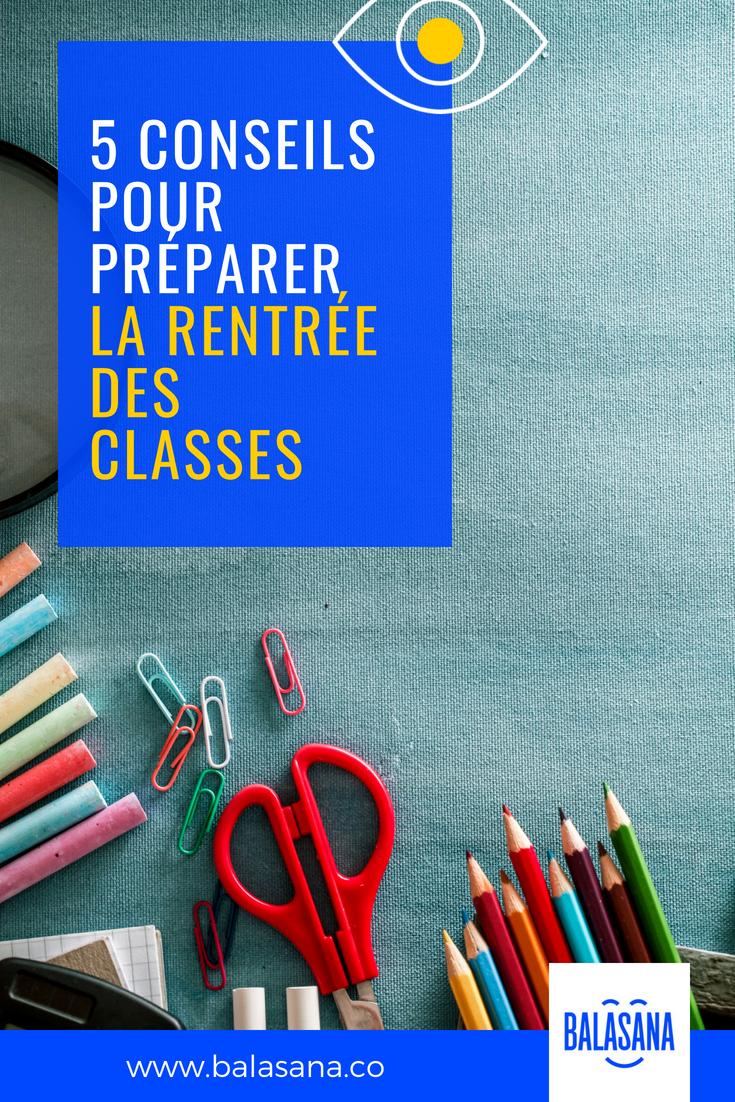 Préparer Une Bonne Rentrée Des Classes En 5 Étapes | Rentrée avec Image Bonne Rentrée Des Classes