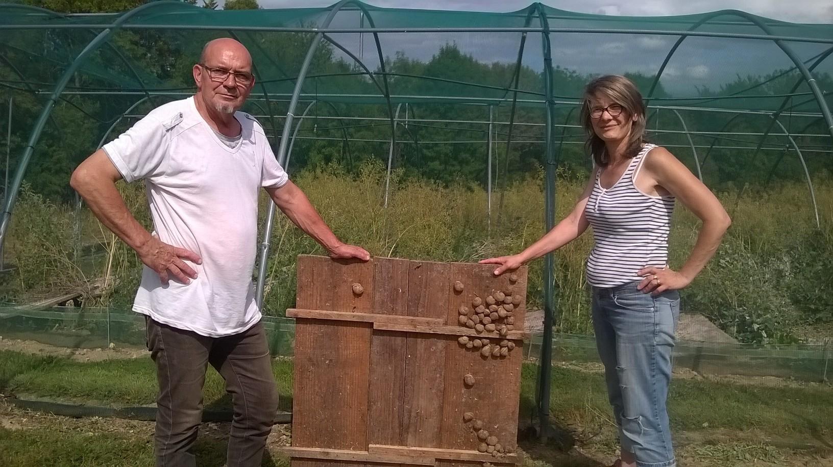 Près De Pont-Audemer, La Ferme Aux 200 000 Escargots Ouvre pour Elevage Escargot