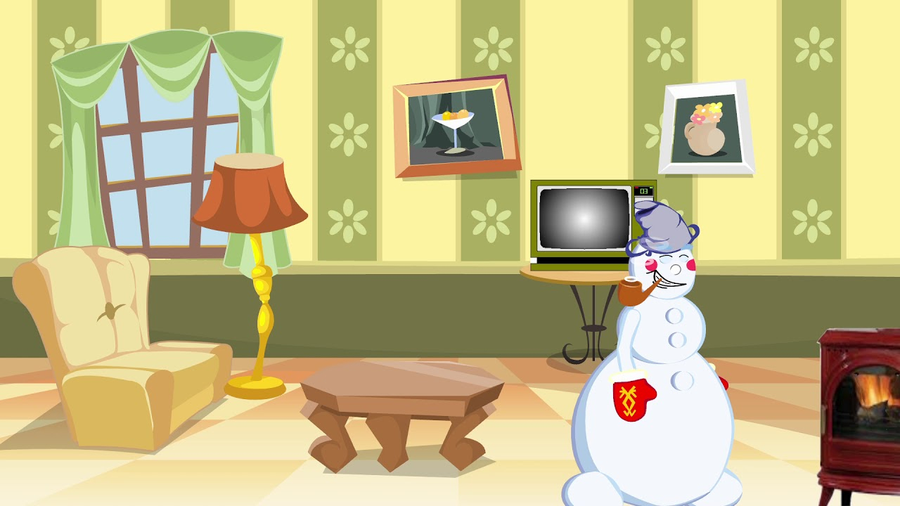 Prévert - Chanson Pour Les Enfants L'hiver - Dessin Animé- intérieur Dans La Nuit De L Hiver Chanson