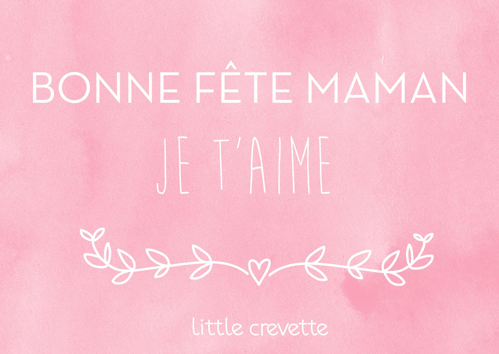 Printable   Les Cartes De Fête Des Mères À Imprimer intérieur Carte Bonne Fete Maman A Imprimer