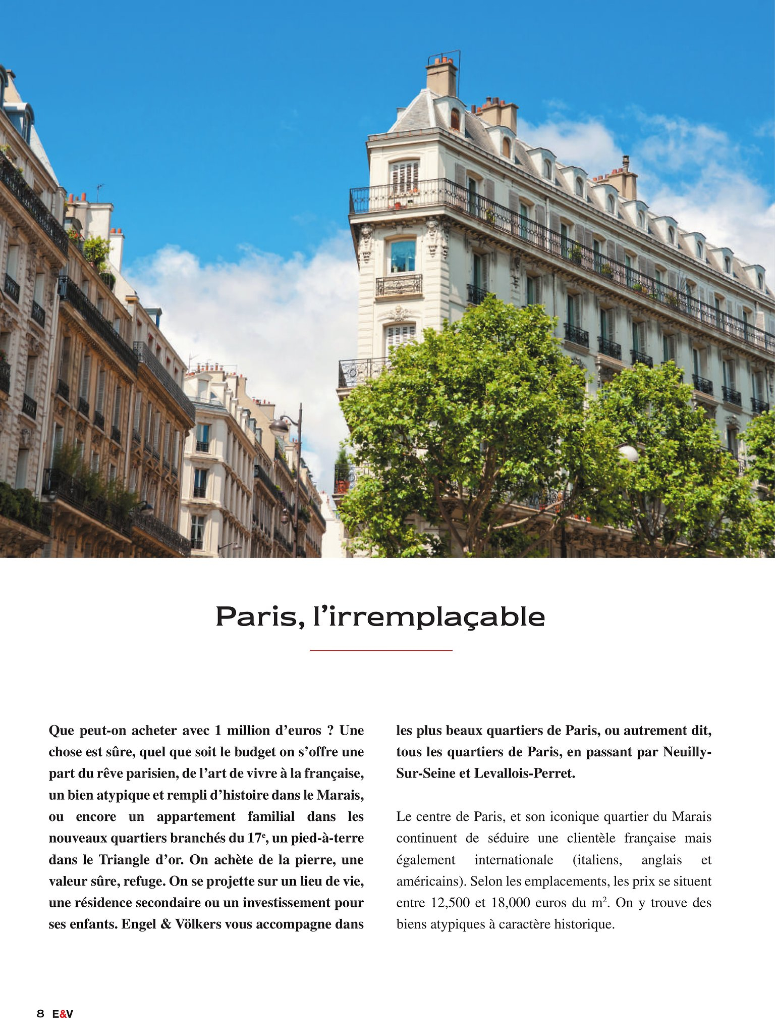 Privateresidencesparisplan Engel & Volkers - Flipbook - Page 8 concernant Grimper En Anglais