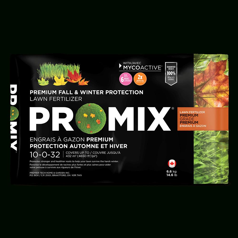 Pro-Mix Engrais À Gazon Premium Protection Automne Et Hiver tout Caractéristiques De L Automne