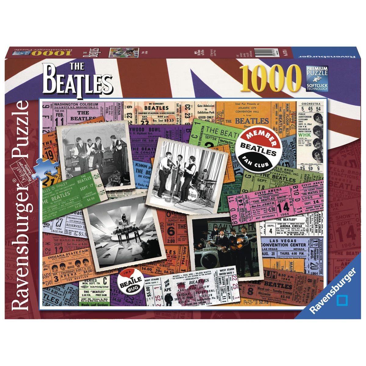 Puzzle 1000 P - Beatles - Rav4005556197514 - Taille : Taille avec Puzzle En Ligne Enfant