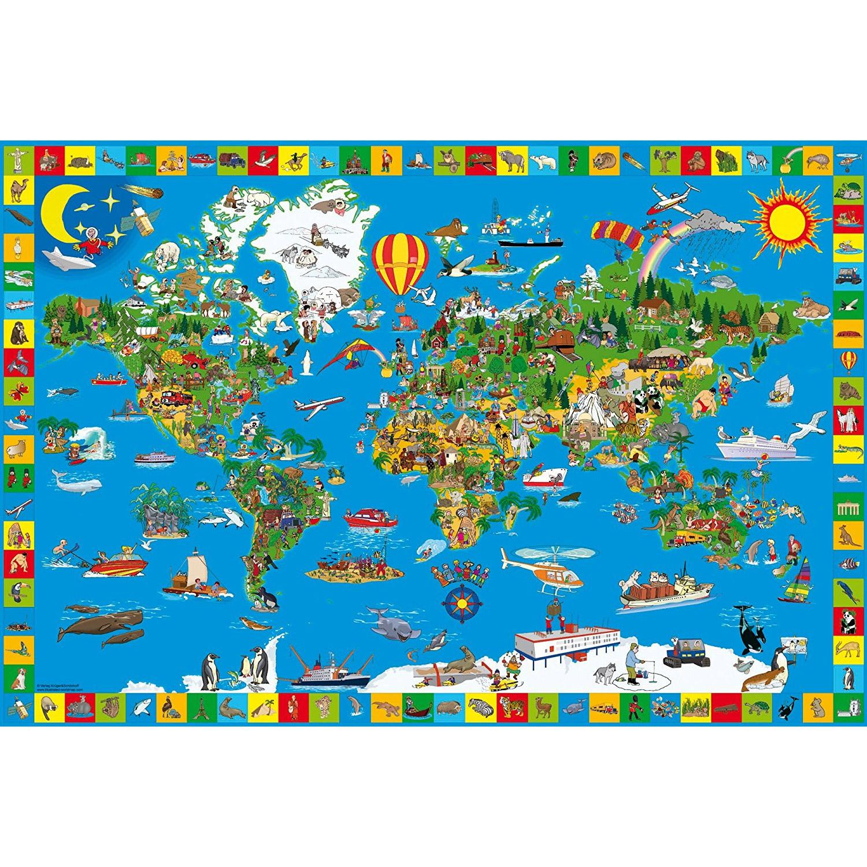 Puzzle 200 Pièces : Ta Petite Terre destiné Puzzle Gratuit Enfant