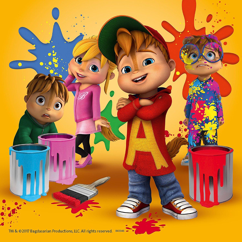 Puzzle 3 Puzzles - Alvinnn Und Die Chipmunks concernant Dessin De Alvin Et Les Chipmunks