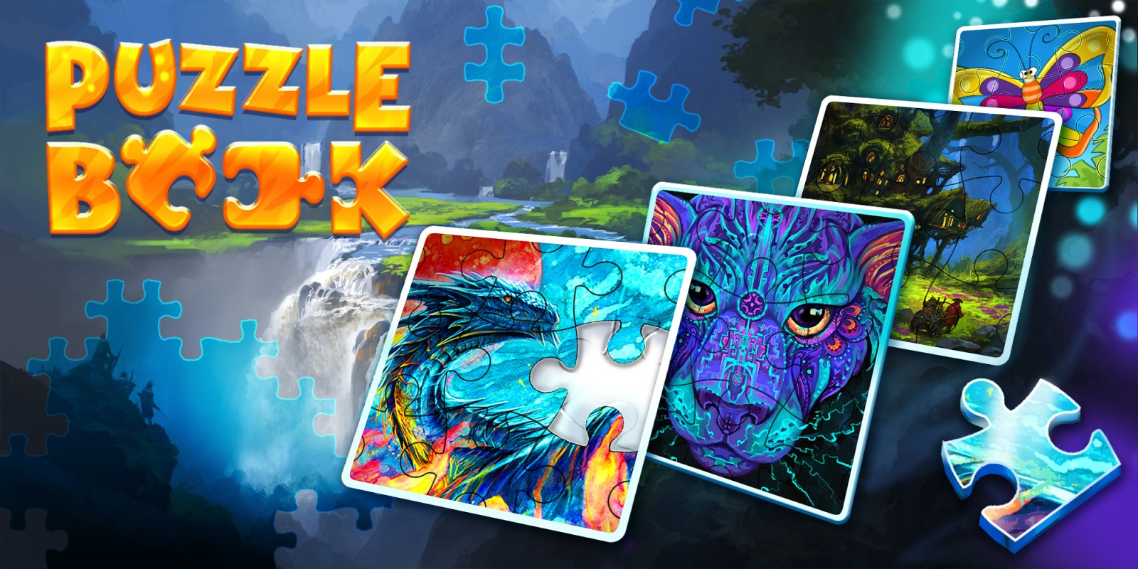 Puzzle Book | Jeux À Télécharger Sur Nintendo Switch | Jeux intérieur Puzzle Gratuit Enfant