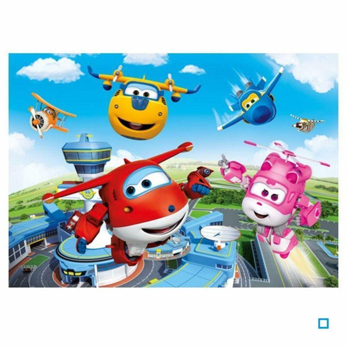"""Puzzle """"cadre"""" 15 Pièces - Super Wings - Cle52247.7 - Taille pour Puzzle En Ligne Enfant"""