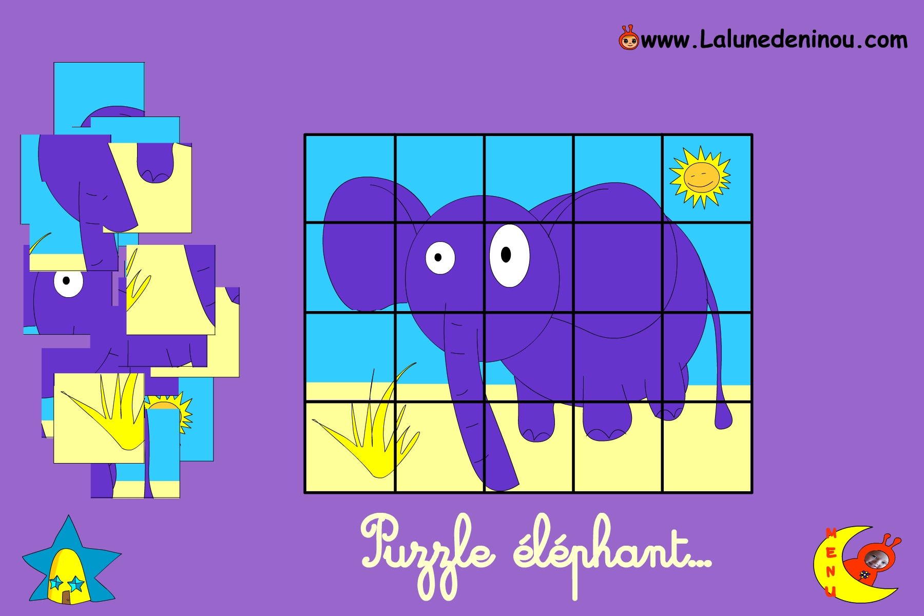 Puzzle En Ligne Pour Enfant De Maternelle - Lalunedeninou encequiconcerne Jeux De Garcon Gratuit 3 Ans