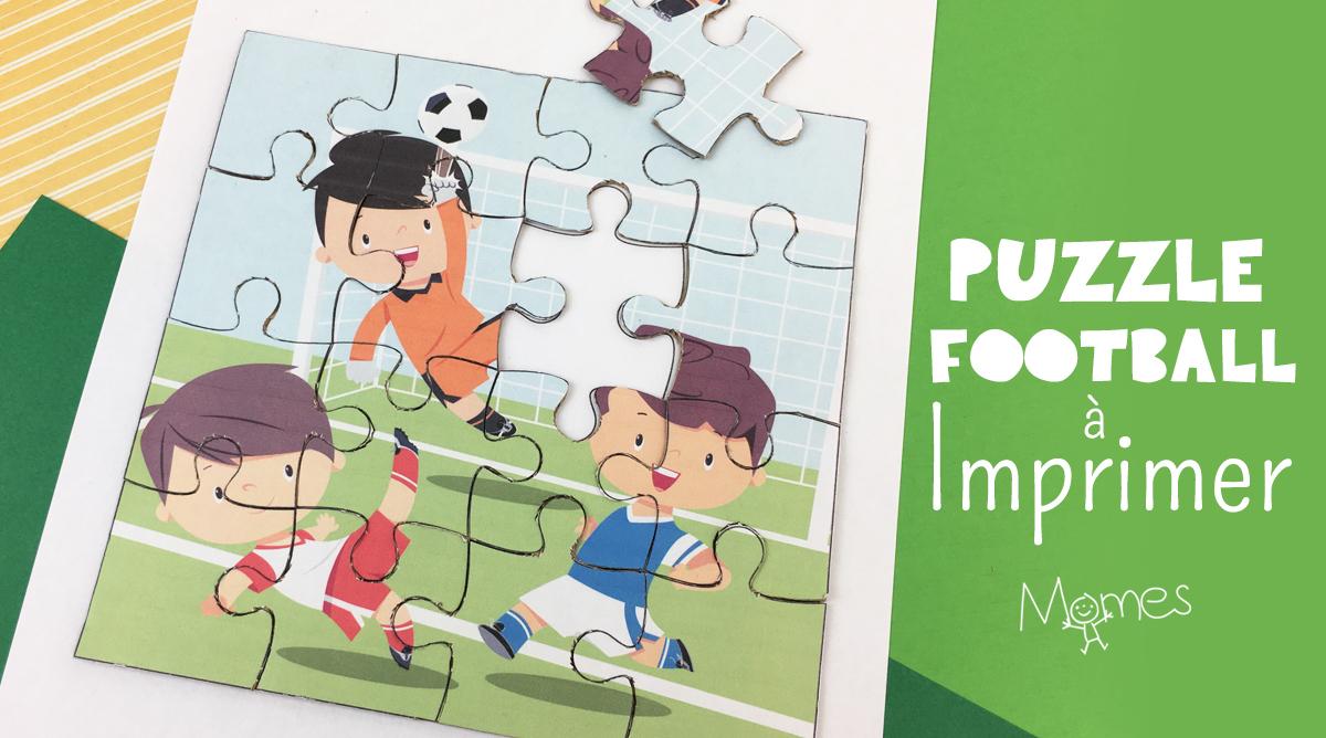 Puzzle Football À Imprimer - Momes intérieur Puzzle En Ligne Enfant
