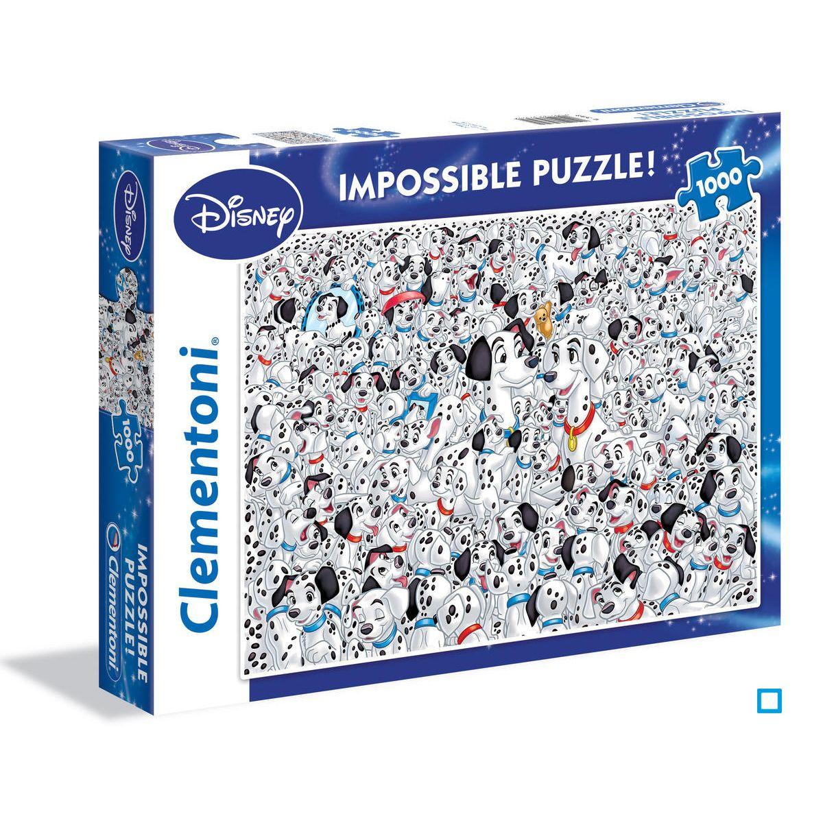 Puzzle Impossible 1000 Pièces - 101 Dalmatians   Impossible encequiconcerne Puzzle En Ligne Enfant