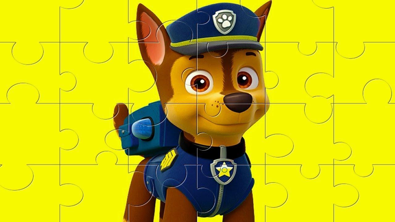 Puzzle Tous Les Caractères De La Pat'patrouille Nickelodeon Junior - Jeux  Spécial Pour Les Enfants destiné Puzzle Gratuit Enfant