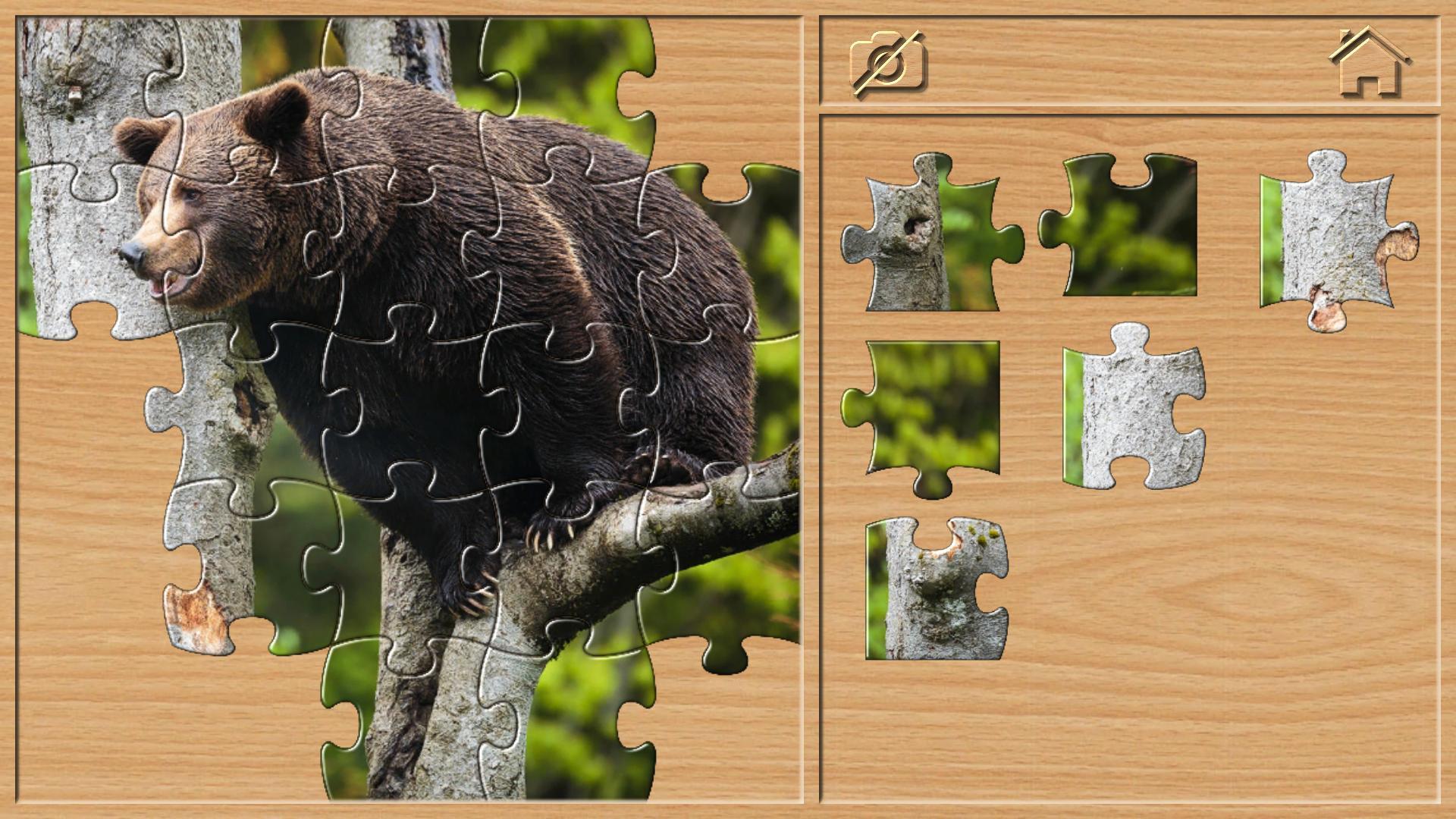 Puzzles Animaux Jeux Pour Les Enfants Pour Android encequiconcerne Puzzle En Ligne Enfant