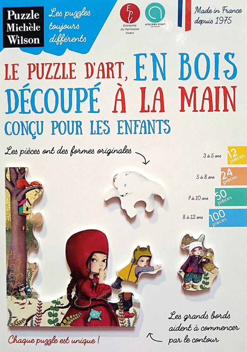 Puzzles En Bois Découpés À La Main Et Made In France encequiconcerne Puzzle En Ligne Enfant