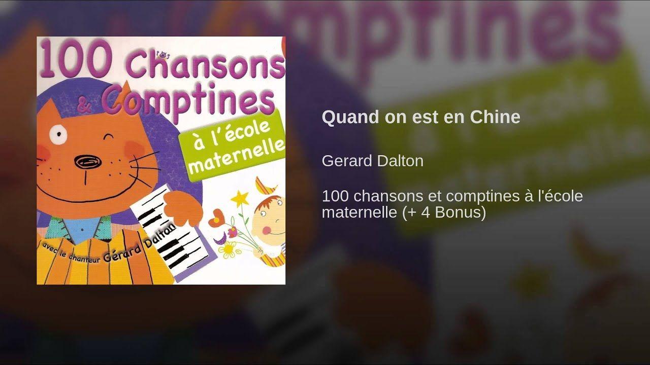 Quand On Est En Chine | Chansons Comptines, Comptines, Noel avec Chanson De Noel En Chinois