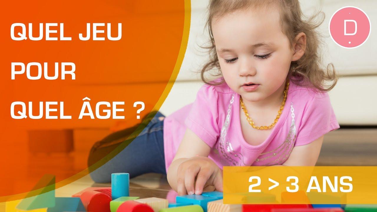 Quels jeux pour un enfant de 2 à 3 ans?  - Quel Jeu a versé Quel Âge?  sort Jeux Educatif 3 Ans En Ligne