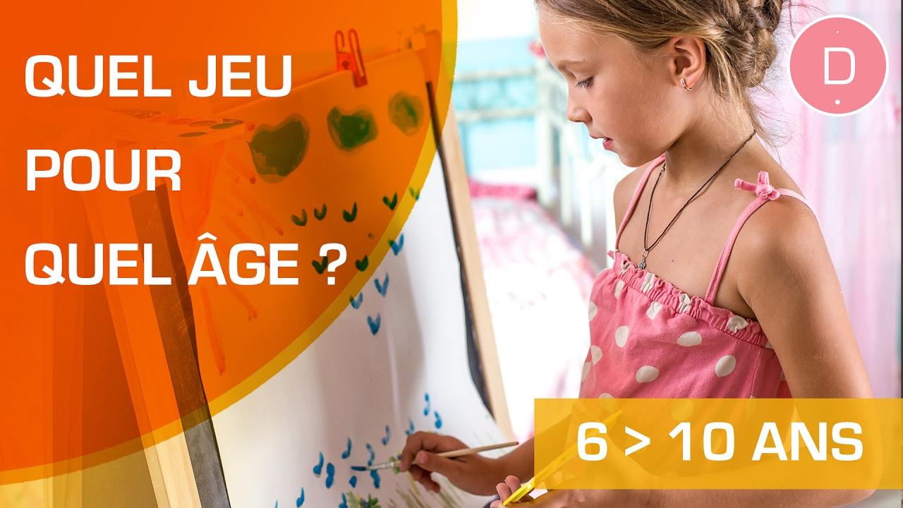 Quels Jeux Proposer Aux Enfants Entre 6 À 11 Ans ? - Quel Jeu Pour Quel Âge  ? destiné Jeux De Intelligence De Fille
