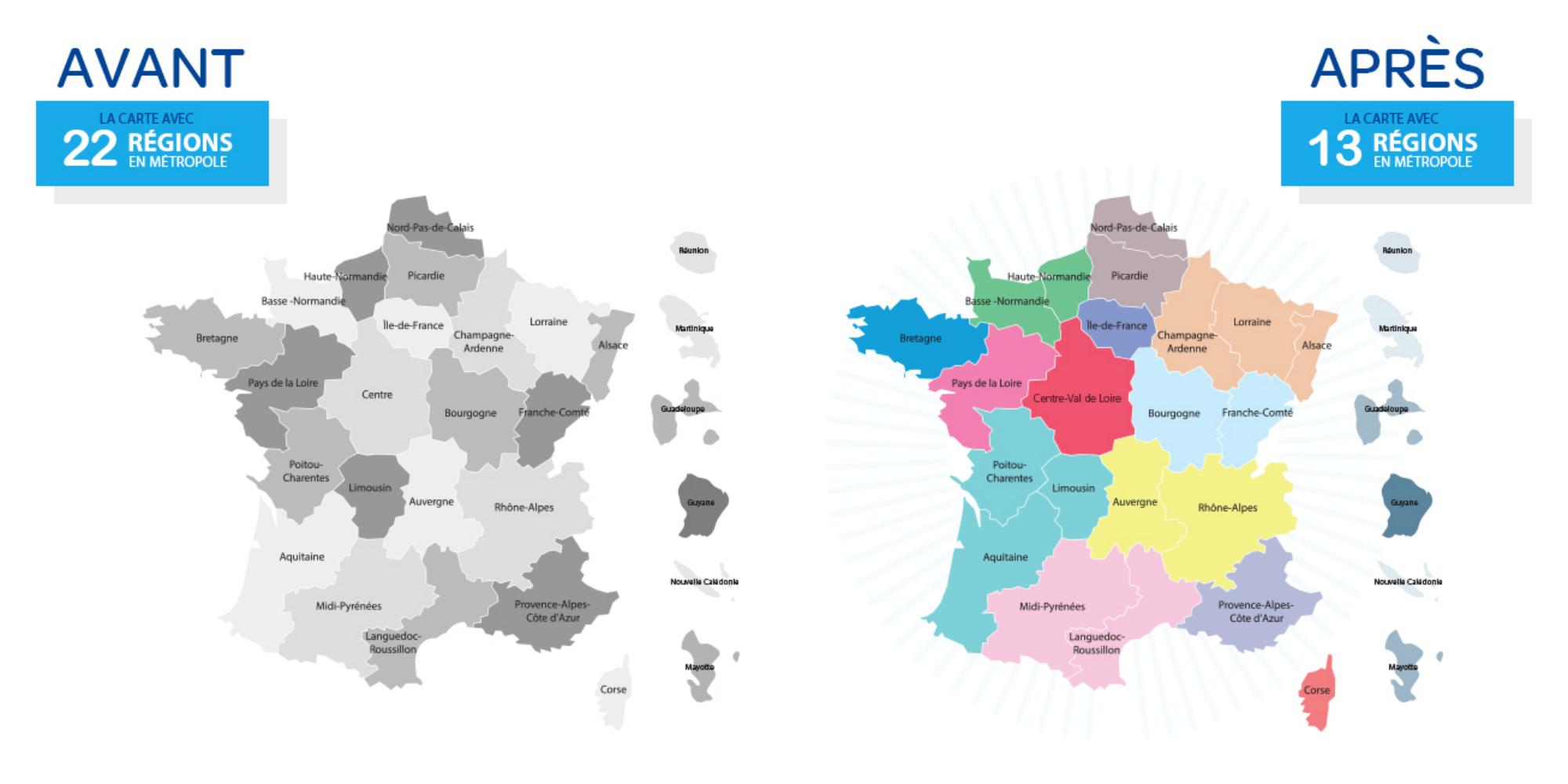 Quels Noms Pour Les Nouvelles Régions Françaises concernant Nouvelle Region France