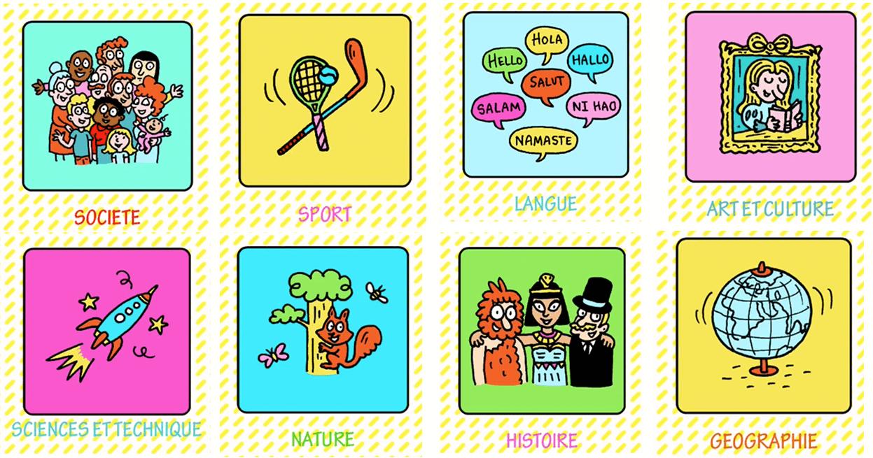 Quiz De Culture Générale Ludiques Pour Les Enfants avec Jeux De Concentration À Imprimer