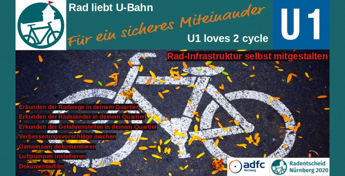 Rad Liebt U-Bahn – U1 Loves 2 Cycle – Quartier U1 dedans Musique Cycle 2